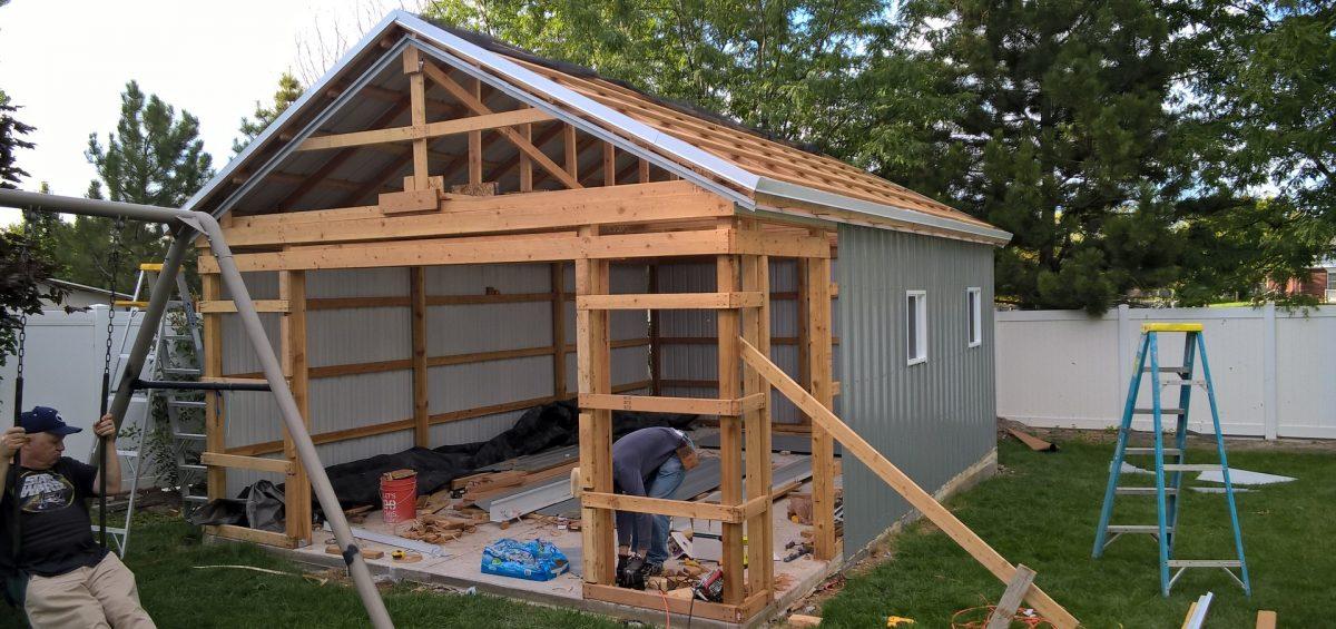 Planning the pole barn siding