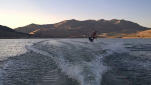 Wakeboarding east canyon